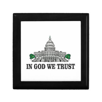 capital in god we trust gift box