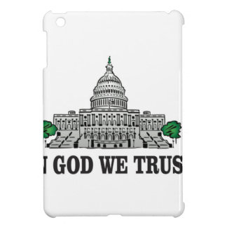 capital in god we trust iPad mini case