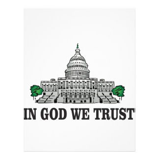 capital in god we trust letterhead