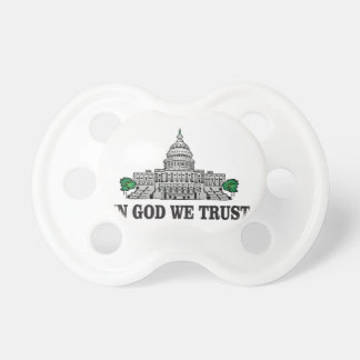 capital in god we trust pacifier