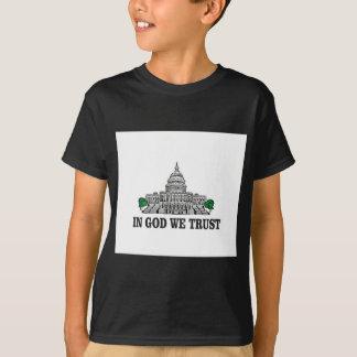 capital in god we trust T-Shirt