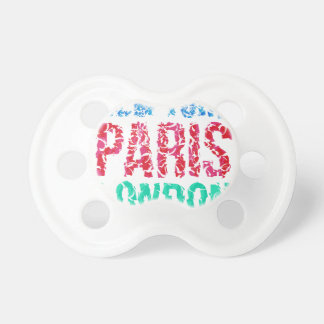 Capital New York Paris London typography, t-shirt Pacifier