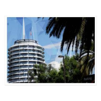 Capital Records Postcard