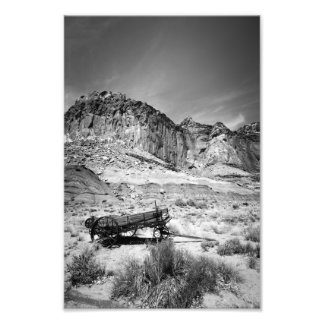 Capital Reef Wagon Photo Print