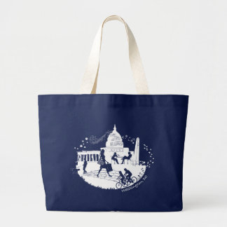 Capital Seasons Illustration Large Tote Bag