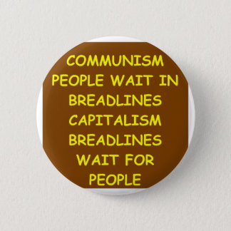 capitalism 2 inch round button