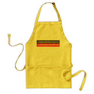 Capitalism and Socialism Standard Apron