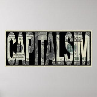 Capitalism Money Poster