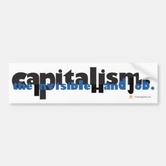 Capitalism: The Invisible Hand Job Bumper Sticker