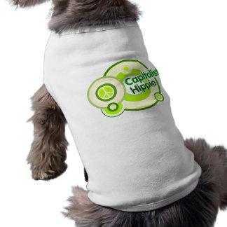Capitalist Hippie Dog T-shirt