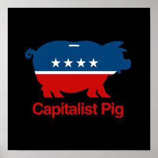 Capitalist Pig.png Print