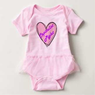 Capitalist Piglet Baby Bodysuit