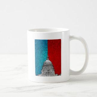 Capitol Building Abstract Coffee Mug