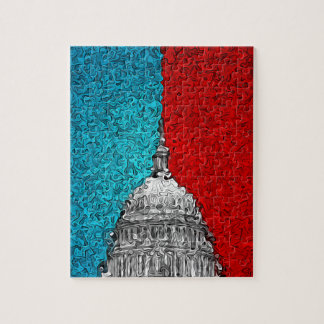 Capitol Building Abstract Puzzle