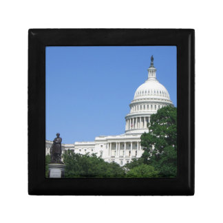 Capitol Building in Washington DC Jewelry Box
