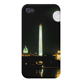 Capitol Building, Lincoln Memorial, Washington iPhone 4 Covers