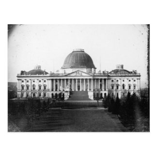 Capitol Building Washington D.C. 1845 Postcard