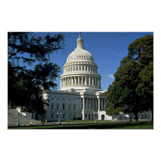 Capitol Building, Washington, D.C., USA Poster