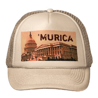 Capitol Building Washington DC Murica America 1900 Trucker Hat