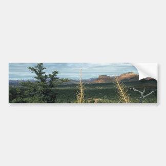 Capitol Butte Sedona Arizona Bumper Sticker