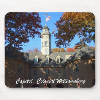 Capitol, Colonial Williamsburg Mouse Pad