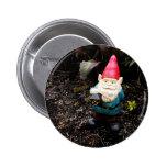 Capitol Garden Gnome 2 Inch Round Button