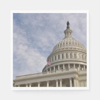 Capitol Hill Building in Washington DC Disposable Napkin