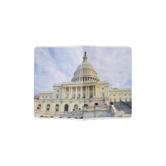 Capitol Hill Building in Washington DC Passport Holder