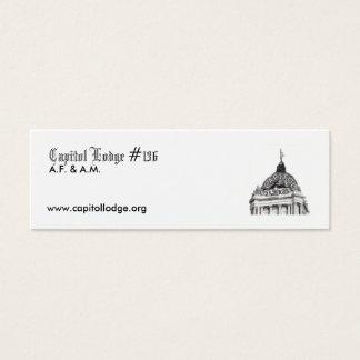 Capitol Lodge Zip Card