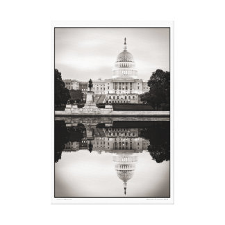 Capitol Morning Canvas Print