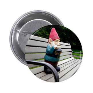Capitol Park Gnome 2 Inch Round Button