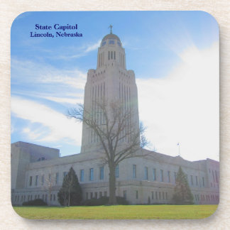 Capitol plastic front with cork coaster #10  06010