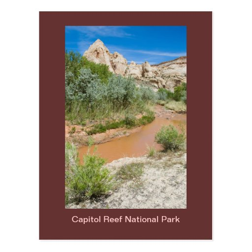 Capitol Reef National Park Post Card
