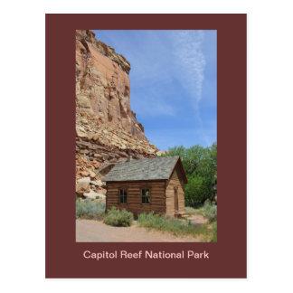 Capitol Reef National Park Postcard