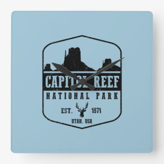 Capitol Reef National Park Wallclock
