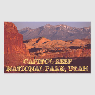 Capitol Reef NP Sticker