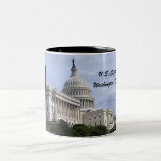 Capitol, Washington, D.C. Two-Tone Coffee Mug
