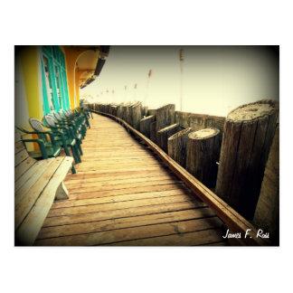 Capitola Beach Postcard