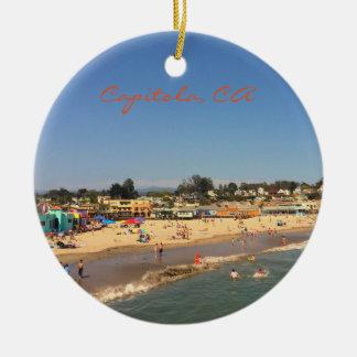 Capitola, CA Christmas Ornament