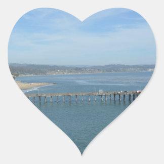 Capitola CA Heart Sticker