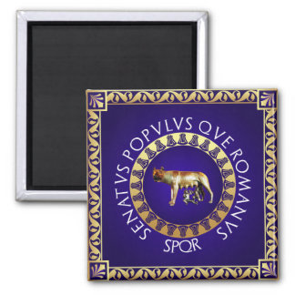 Capitoline Wolf Magnet