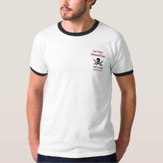 Cap'n Chuk's Horizontal Pirate Pub - Dead Ringer T-Shirt