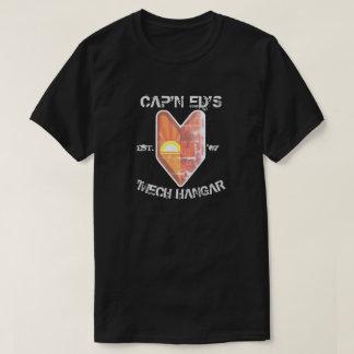 Cap'n Ed's 'Mech Hangar Leaf T-Shirt Dark