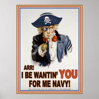 Cap'n Sam Poster