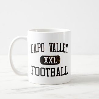 Capo Valley Cougars Football Coffee Mug