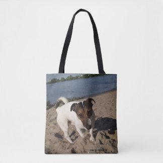 Capo von Oppenheim Jack Russell Terrier, Dog Tote Bag