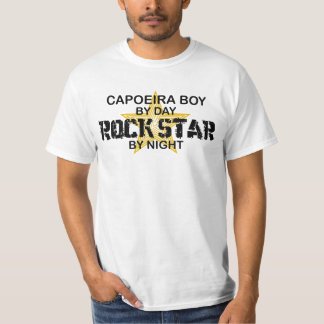 Capoeira Boy Rock Star by Night T-Shirt