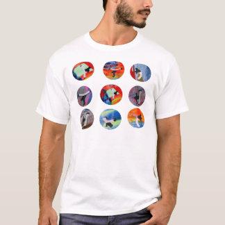 capoeira circles mma black belt cdo brazil mixed T-Shirt