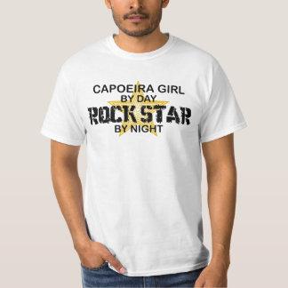 Capoeira Girl Rock Star by Night T-shirts