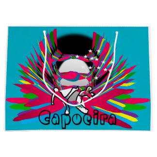 capoeira large gift bag